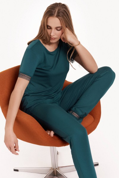 Пижама с короткими рукавами и длинными брюками »Helen«
