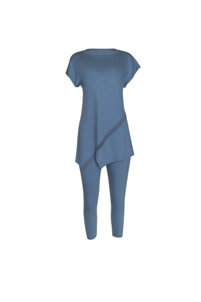 Пижама: туника с длинными брюками »Helen«