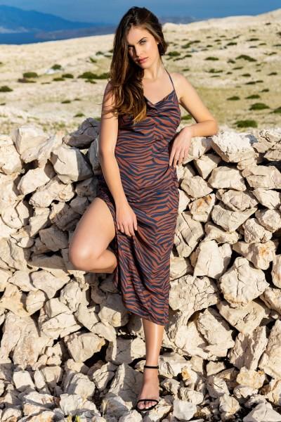Пляжное платье на тонких бретелях »Lima«