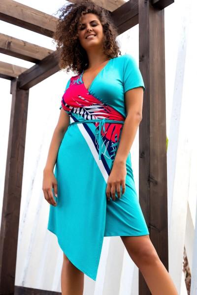 Платье с запахом »Tahiti«