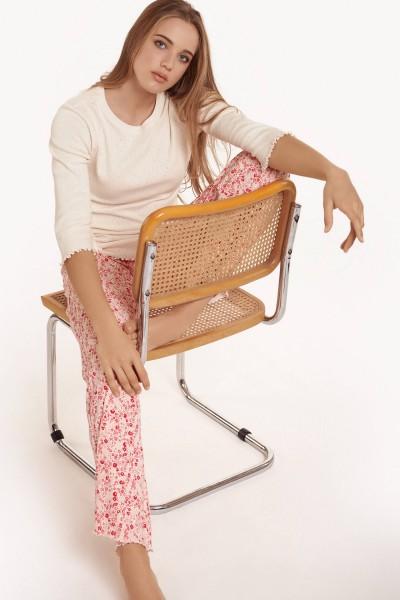 Пижама с рукавами 3/4 и длинным брюками »Limitless«