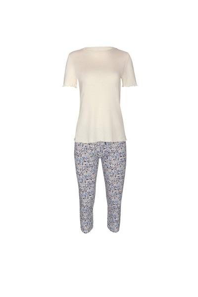 Пижама с короткими рукавами и брюками 3/4 »Limitless«