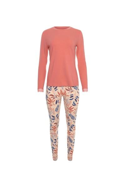 Пижама: топ с длинными рукавами и леггинсами »Mellow«