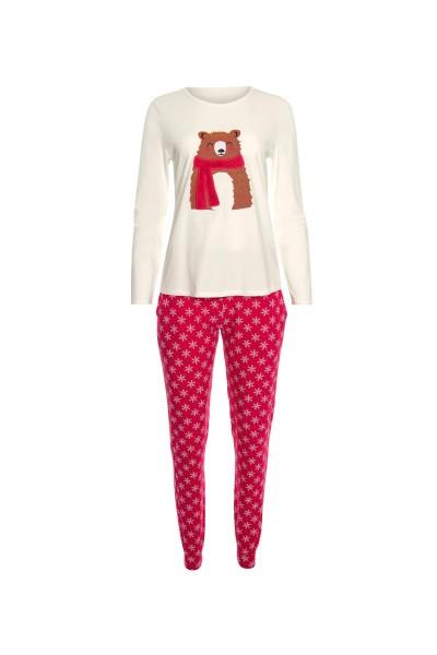 Женская пижама: топ длинными рукавами и брюками »Wonderland«