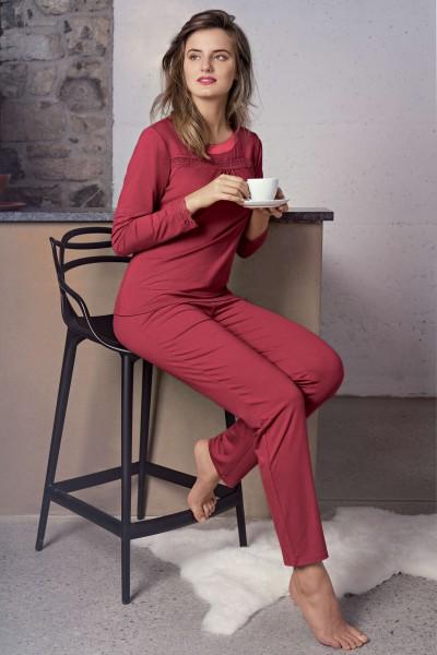 Пижама с длинными рукавами и длинными штанами «Caroline»