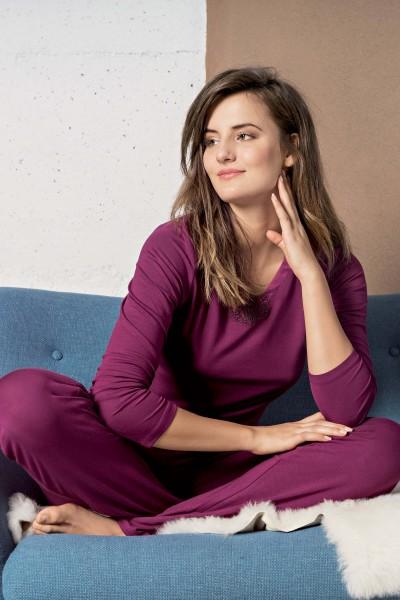 Пижама с длинным рукавом и брюками «Celine»