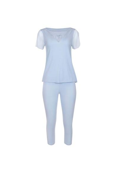 Пижама с коротким рукавом и брюками длиной 3/4 »Florianne«