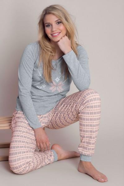 Пижама с длинными рукавами и длинными штанами «Nordic Fun»