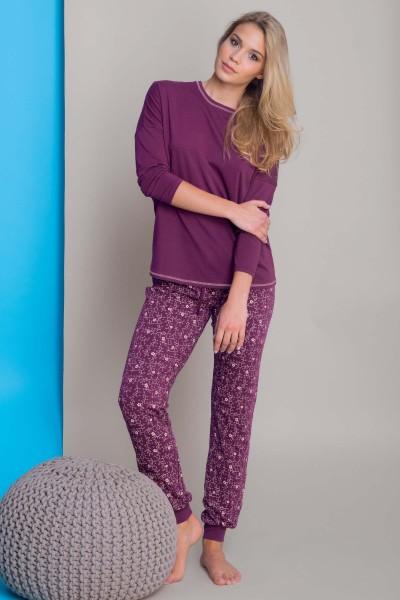 Пижама с длинными рукавами и длинными штанами «Dreamy»