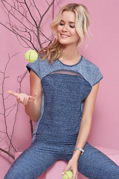 Спортивная футболка «Miss Sporty»